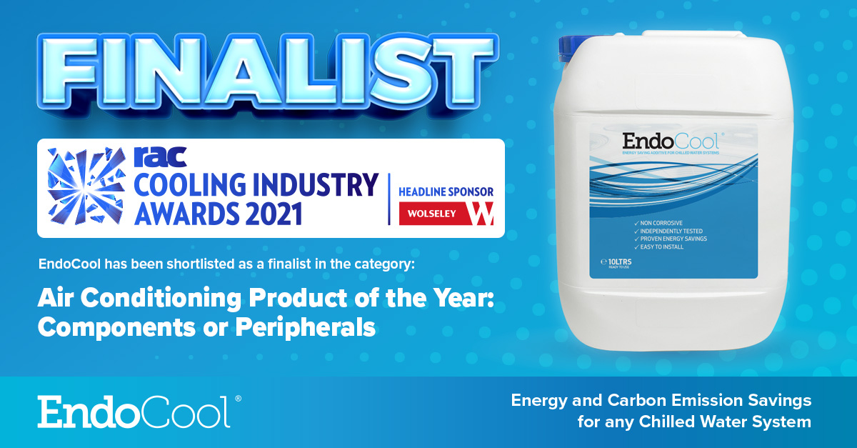 EndoCool - Finalist at 2021 RAC Cooling Awards